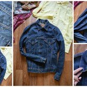 Мужская брендовая джинсовая куртка Levis,р-р М