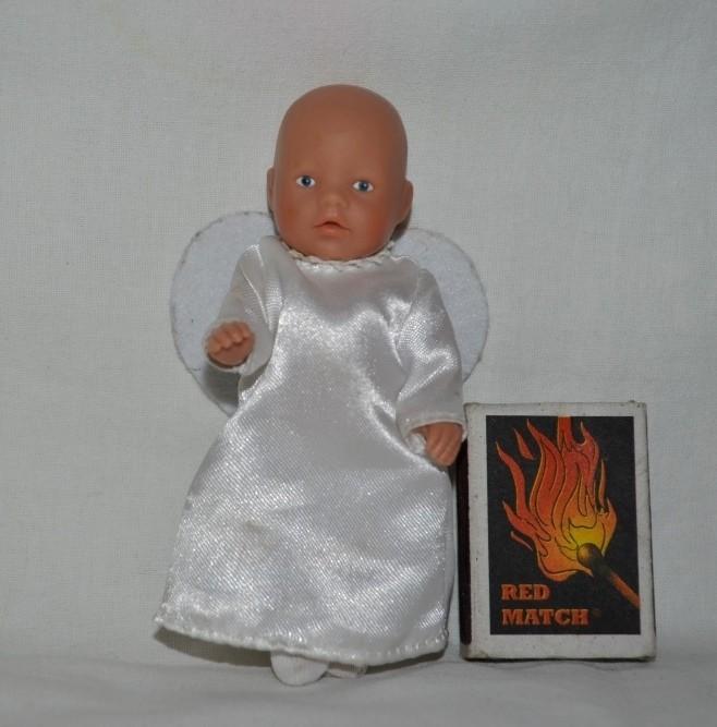 Пупсик куколка mini baby born zapf creation моя мини беби борн ангел ангелочек  фото №1
