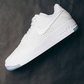 Кроссовки Nike Air Force 1 ultra Flyknit Low white, р. 36-44, код fr-1450