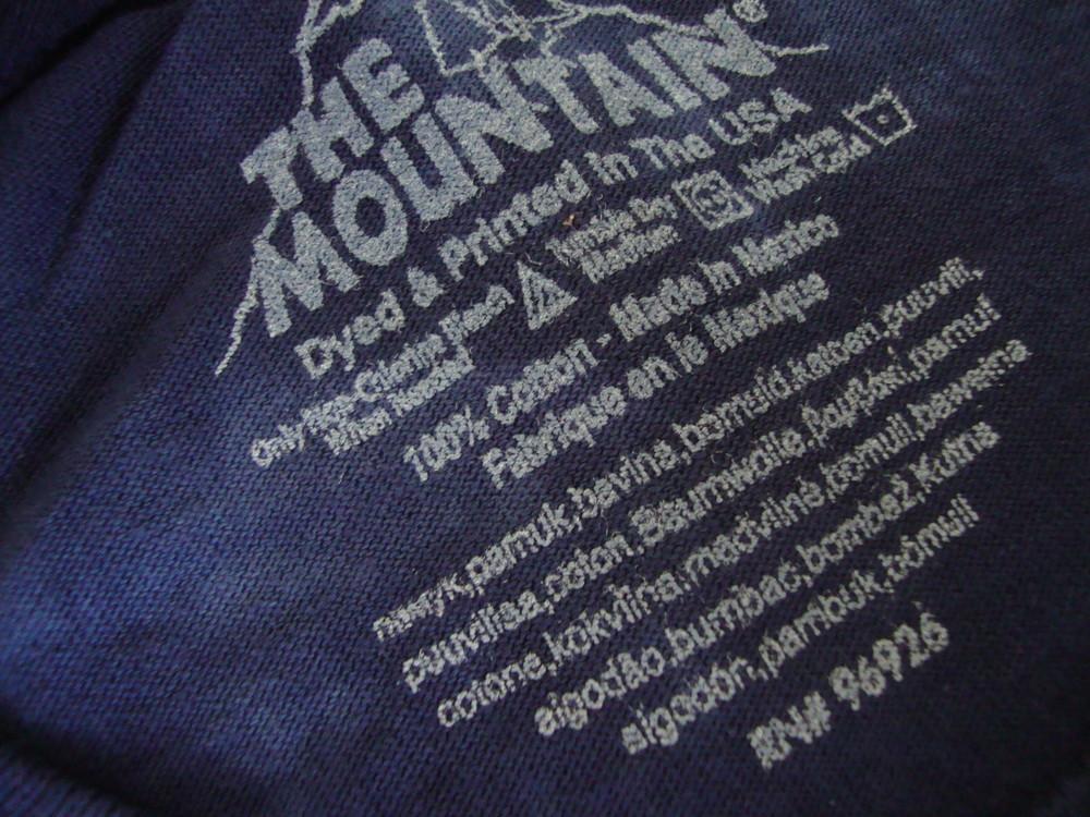 Футболка the mountain zombie размер s-m фото №3