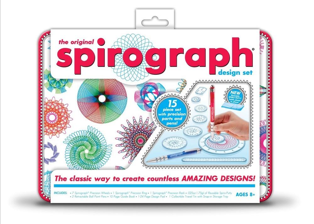 Набор дизайнерский спирограф spirograph design tin set фото №1