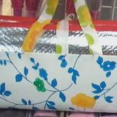 Пляжный коврик -сумка соломенный +фольга , размеры разные