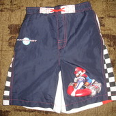 Фирменные шорты мальчику 6-8 лет