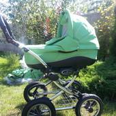 Детская универсальная коляска (зима-лето) 2 в 1 Bebetto Fabio