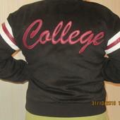Женская College куртка - бомбер, Campus girl..Размер М .Новая вещь!