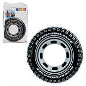 """Надувной круг Intex """"Шина"""" 59252, диаметр - 91 см"""