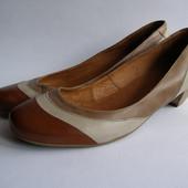 Кожаные класические туфли Roberto Santi, р.39 – 25см.