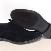Туфли VanKrist деми, р. 40-45, натур. замша, код gavk-343