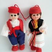 Коллекционные куклы в национальном костюме Хорватии  . Отличное состояние. Рост около 10 см