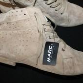 42 разм. Ботинки Marc. Замша. Made in Germany