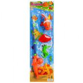 Рыбалка 1 удочка, 4 морских животных M 0036U/R