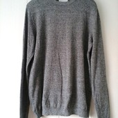 Купить легкий мужской свитер пуловер Topman размер М