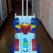 машинка - толокар chicco Formula-1 4 в 1