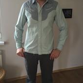 рубашка мятная стильная