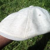 Вітчизняна стильна модная кашкет картуз бандитка  кепка. Льон .57-58 .