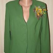 Красивенный яркий пиджак большого размера, р.14 (ПОГ 55)