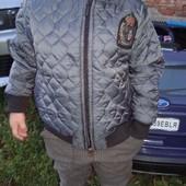 Куртка деми для мальчика, цвет графит
