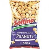 Арахис жареный соленый Soltino 500 гр