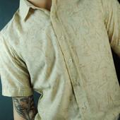 Новые!! стильные рубашки-тенниски с красивым принтом. S,M