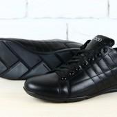 Туфли спортивные натуральная кожа В1905