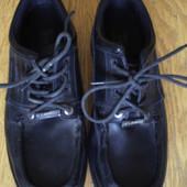 Туфлі з замінника р.44 стелька 29 см US Brass