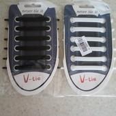 12шт в упаковке !! Силиконовые шнурки!