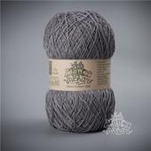 Пряжа Этно-Коттон 1200 (Ethno-Cotton 1200),тёмно серый артикул 011