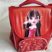 Рюкзак школьный ортопедический каркасный  для девочки