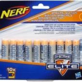 Комплект из 10 стрел для бластеров Nerf Elit от  Hasbro