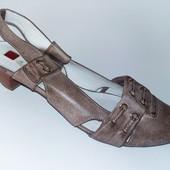 Качество туфли Hogl р 39-39,5 кожа