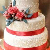 Свадебный торт Киев, Свадебный торт на заказ Киев каравай и не только торт без мастики Кендибар