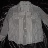 Фирменная рубашка George на 4-5 лет хлопок