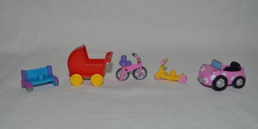 Разные аксессуары транспорт к игровым наборам shopkins шопкинс оригинал фото №1