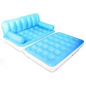 Диван-кровать трансформер BestWay 75038g 5 в 1 с электронасосом 220В