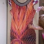 платье для беременюшки на среднем сроке или кормящей