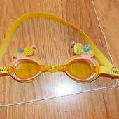 Фирменные очки для плавания Juniors для девочки 3-7 лет