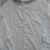 Рубашка мужская с длинным рукавом М/L