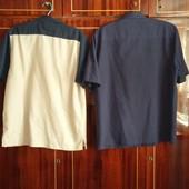 2 Гарні літні сорочки/рубашки р.L-XL
