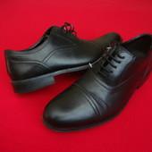 Туфли оксофорды Clarks натур кожа 41 размер