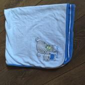 Хлопковый плед, одеялко для малыша Miniclub