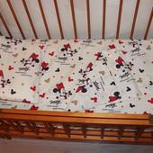 Постельный набор в кроватку бязь Е11