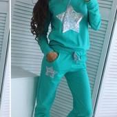 Новинки!!! Яркие женские спортивные костюмы разных цветов