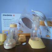 ручной 2-фазный молокоотсос Medela с соскою