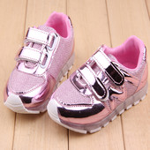 Кроссовки детские Светящиеся LED ( кросовки со светящейся led подошвой)