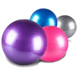 Гладкий Мяч 65см. фитбол Profit Ball для фитнеса