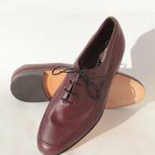 Кожаные туфли, стелька 27 см, Австрия