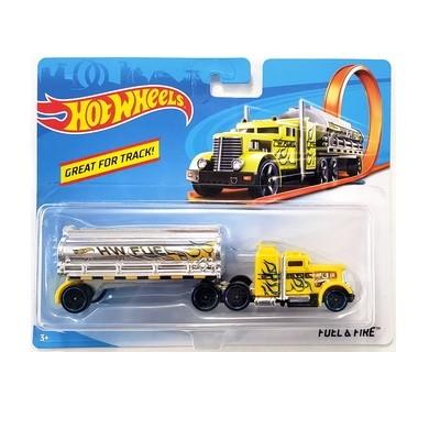 Машинка грузовик hot wheels fuel & fire фото №1