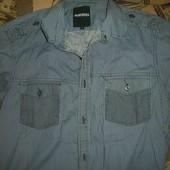 рубашка с коротким рукавом размер s Peacocks -как новая