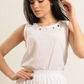 Блуза Сержио р42-52 белый