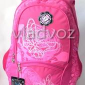 Школьный рюкзак DFW для девочек роз